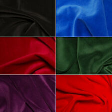 100% Cotton Velvet Fabric Costume Dressmaking Eveningwear