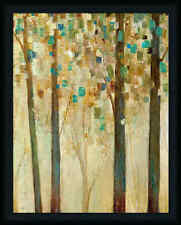 Reach for the Sun I 28x22 Contemporary Abstract Tree Landscape Art Print Framed