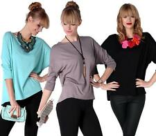 Long Shirt Blouse Shirt with Bat sleeves Top 7 Colors, 0127