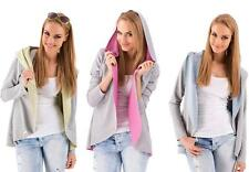 Cardigan Sweater jacket with hood in 5 colors Size S M 36 38 m19