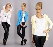 Cardigan Sweater jacket with hood in 4 colors Size S M 36 38, m19