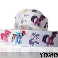 "1""25mm Cute Horse Printed grosgrain ribbon 10/50/100 yards hairbow Wholesale 1"