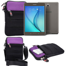 "Samsung Galaxy Tab A 8.0"" Messenger Tablet Cover Case Bag w/ Shoulder Strap"