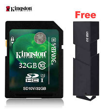 New Kingston HD Video Digital Flash Memory SD Card 8GB 16GB 32GB 64GB Class10 U1
