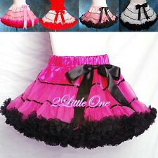 CLEARANCE SALE Girl Pettiskirt Petticoat Tutu Birthdat Party Skirt SZ 2T-8 #002B