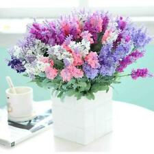 1 Bunch Fake Provence Lavender Bouquet for Wedding Party Home Office Decoration