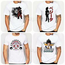 DRAGON BALL Z ANIME GOKU VEGETA FRIEZA PRINT T-SHIRT MENS UNISEX