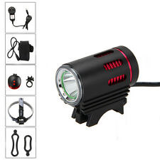 Rechargeable MINI 3000LM CREE XML L2 LED Front Bike Bicycle Light Head Headlamp