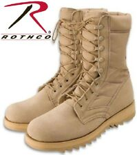 "Jungle Boots 10"" Desert Military Speed lace Ripple Sole Jungle Boots 5058"