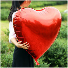32'' Heart Mylar Balloon Party Birthday Wedding Item Multicolor