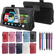 New PU Leather Smart Case Cover Stand For Amazon Kindle Fire Models