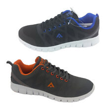 Mens Sport Shoes Runners/Sneakers Aerosport Motion Black/Blue UK 6-12  Skate