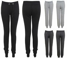 NEW LADIES WOMENS JOGGERS SKINNY SOFT GYM JOGGING BOTTOMS TRACKSUIT PANTS
