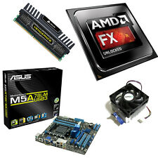 AMD FX 8320 Eight Core 4.00GHz 8GB ASUS M5A78LM-USB3 Motherboard Bundle