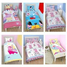 PEPPA PIG & GEORGE PIG DUVET QUILT COVERS – TODDLER, SINGLE & DOUBLE SIZES