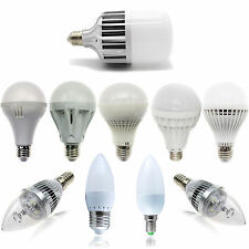Hot LED Light Bulb E27/E14/E26/E12 SMD/Epistar Candle/Globe Cool/Warm White Lamp