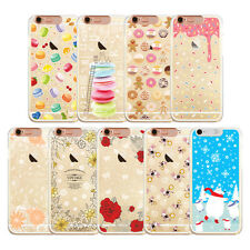 Lovely Cartoon LED Flash Lighting Remind Incoming Clear Case Cover For iPhone
