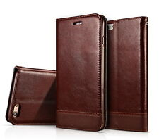 Luxury Leather Wallet Case Magnetic Flip Cover Stand For Apple iPhone 6/ 6S Plus
