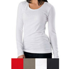 2 x Women's Bamboo Long-sleeve T-shirts, organic cotton + Fast & Free Postage!