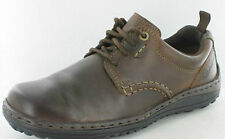 Mens brown leather Hush puppeis shoes style Belfast