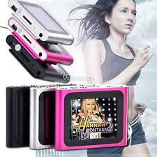 "Support 2-12GB Slim Mp3 Mp4 Player w/ 1.8"" LCD Screen FM Radio Video Games Movie"