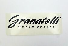 "Granatelli Motor Sports High Quality Vinyl Decal 8"" x 2"" (Multiple Colors)"