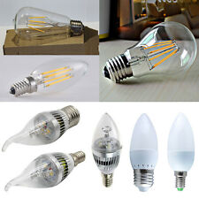 Edison E12 E14 E27 LED Light Bulb 2W 4W 6W 8W SMD/Epistar/Filament Candle Bulbs