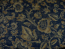 Braemore ESPRESSO Brown Shades Jacobean Floral Home Decor Drapery Sewing Fabric