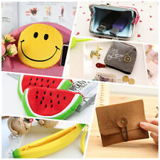 A wide range of Banana Sequined Coin Purse Wallet Bag Canvas Pocket jcau
