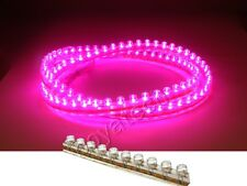 96cm Red Green Blue Yellow White Pink Flexible Neon Light 96 Led Strip 12V 24V