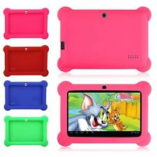 "New Silicone Soft Gel Case Cover For 7"" Android A23 Q88 Tablet PC Kids Gifts KJ"