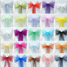 Wholesale Organza Sashes Chair Cover Fuller Bow Sash Wider Sash Wedding Party