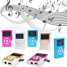 USB Mini MP3 Player LCD Screen Display Support 2/8/16/32GB Micro SD TF Card HOT