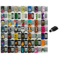 Design Hard Rubberized Color Snap-On Case Cover+Dock Stylus for iPhone 4 4S 4G