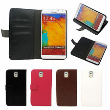 Flip Leather Wallet Card Slot Stand Case Cover For Samsung Galaxy Note 3 N9000