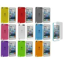Color Ultra Thin Hard Cover Case+3X LCD Protector for iPod Touch 5th Gen 5G 5
