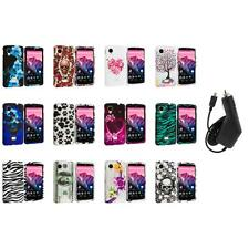 For LG Google Nexus 5 Design Hard Snap-On Case Cover Accessory+Charger