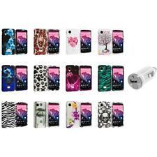 For LG Google Nexus 5 Design Hard Snap-On Case Cover Accessory+USB Charger