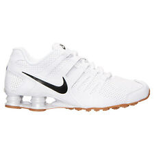 Nike Shox Current PREMIUM  Men's Running Shoes White/Gum New Mens Shoes Size 12