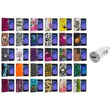 For Sony Xperia Z2 Hard Design Snap-On Matte Case Cover Accessory USB Charger