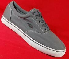 Men's LUGZ MVETCC Canvas Gray Lace Up Sneakers Casual Comfort Shoes NEW