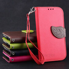 Leather Flip Wallet Stand Soft Case Cover For Samsung Galaxy S3 SIII i9300 WAFFA