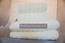Bedding Heaven 600 gramme Egyptian 100% Cotton Supersoft Towels - Cream
