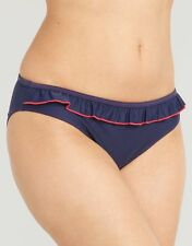 Midnight Grace by figleaves.com Womens Noir Frill Bikini Brief