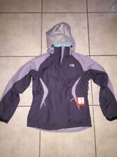 $288 NWT North Face Womens Kalzar Triclimate Hyvent Grey Mint 3 in 1 Jacket Coat