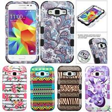 For SAMSUNG Galaxy Core Prime/Prevail LTE Glossy Print TUFF Phone Case Cover