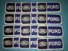 12 Lot Rare Vintage Ford Car Club Iron On Jacket Hat Patches Crests
