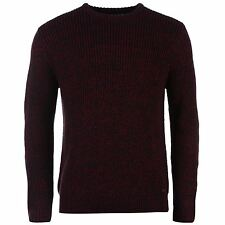 Lee Cooper Mens Knit Jumper Long Sleeve Sweater Pullover