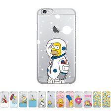 Gcase Slim Clear Simpsons Shockproof Bumper Cover Case For Apple iPhone 6 / 6S