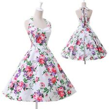 Womens Vintage 50s 60s Rockabilly Pinup Evening Party Cocktail Prom Swing Dress